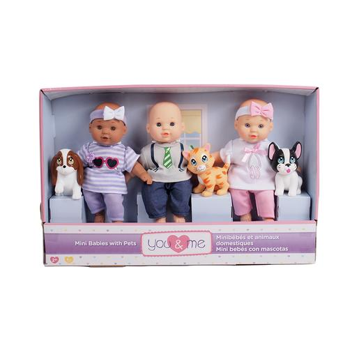 You & Me - Mini Bebés com Mascotes