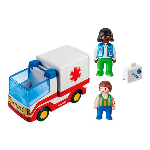 Playmobil 1.2.3 - Ambulância - 9122