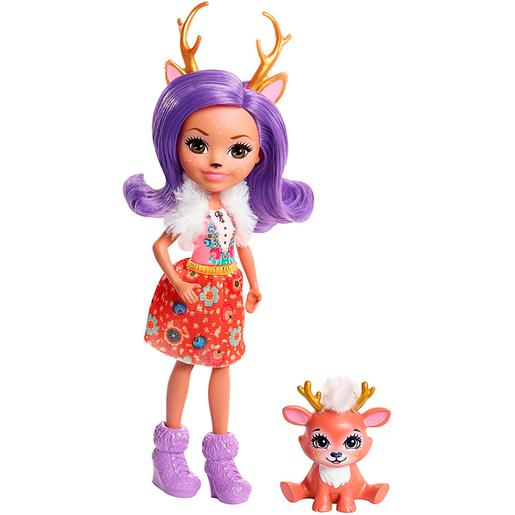 Enchantimals - Danessa Deer - Boneca e Mascote