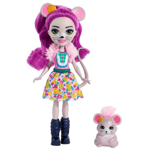 Enchantimals - Mayla Mouse e Fondue - Boneca e Mascote