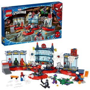 Lego Super-heróis Ataque Ao Esconderijo de Spider-man 76175