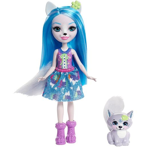 Enchantimals - Winsley Wolf - Boneca e Mascote