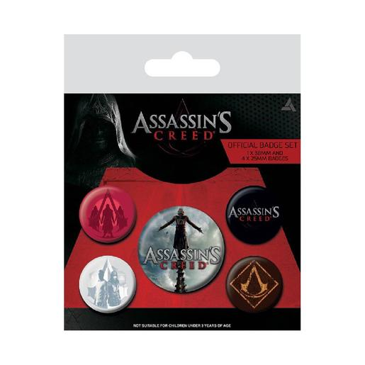 Assassin's Creed - Pack 5 Chapas