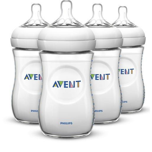 Philips Avent - Pack 4 Biberões 240 ml  - SCF693/4