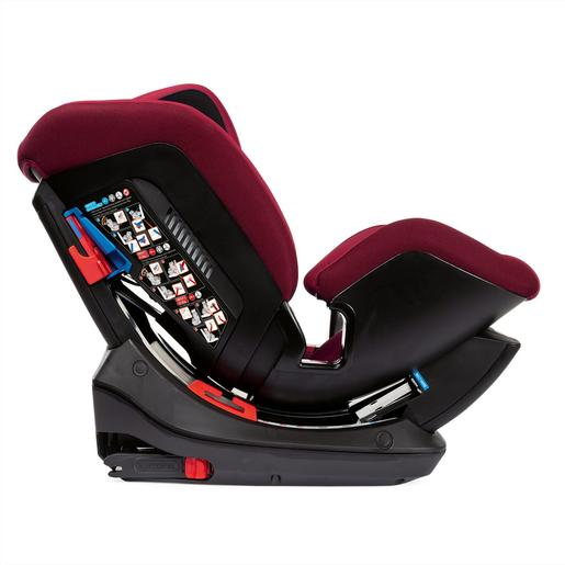 Chicco - Caidera Auto Sirio 012 (Gr.0+/1/2) Isofix Red Passion Chicco
