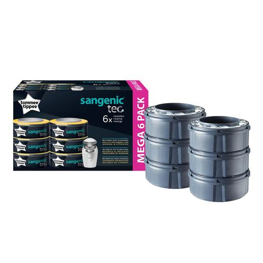 Tommee Tippee - Contentor com 6 Recargas Sangenic Plus