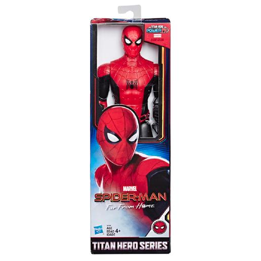 Spider-Man - Figura Titan Hero Power FX Longe de Casa