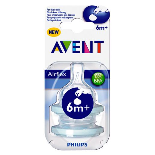 Philips Avent - Pack 2 Tetinas Cereais - SCF636/27