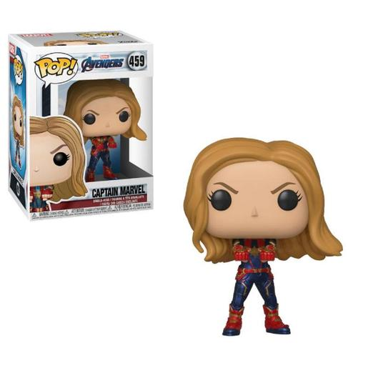 Os Vingadores - Captain Marvel Endgame - Figura Funko POP