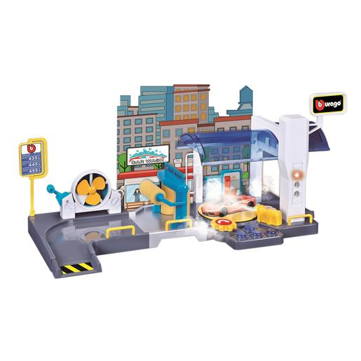 Bburago - Playset Car Wash