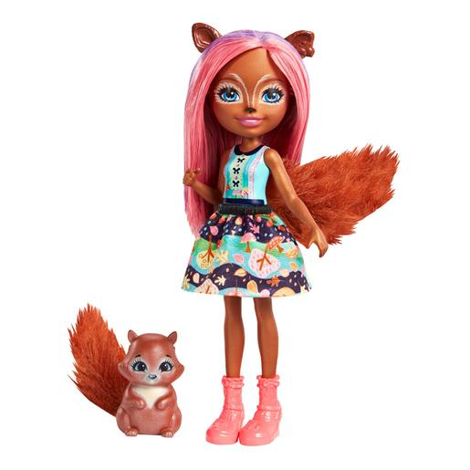 Enchantimals - Boneca Sancha Squirrel