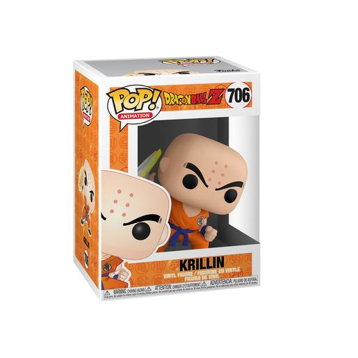 Dragon Ball - Krillin com Disco Destrutor - Figura Funko POP