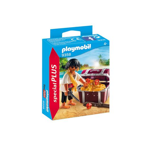 Playmobil - Pirata com baú do Tesouro - 9358