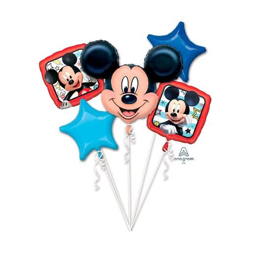 Mickey Mouse - Pack 5 Balões Bouquet