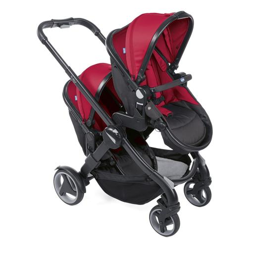 Chicco - Duo gemelar de passeio Fully Twin Red Passion
