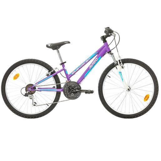 0e636ecff Avigo - Bicicleta Blue Volcan 24 Polegadas Roxa
