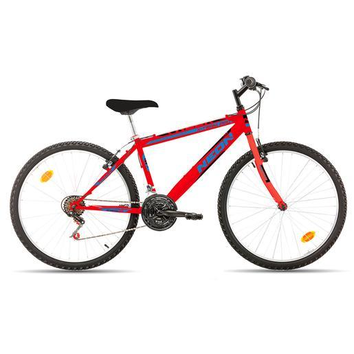 f77b8558a Avigo - Bicicleta Néon 26 Polegadas Vermelha