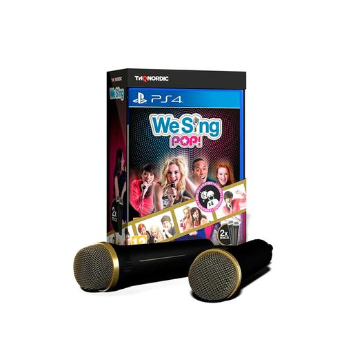PS4 - We Sing Pop + 2 Microfones