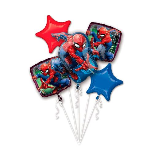 Spider-Man - Pack 5 Balões Bouquet