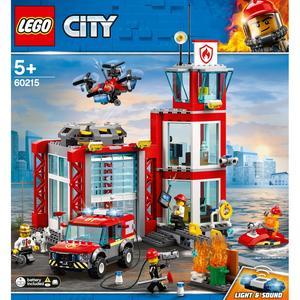 LEGO City - Quartel dos Bombeiros - 60215