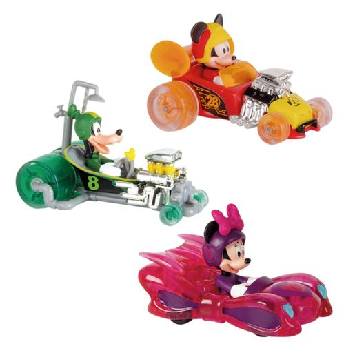 Mickey Mouse - Pack 3 Mini Veículos Mickey e os Superpilotos