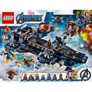 LEGO Marvel Avengers Vingadores Helitransporte - 76153