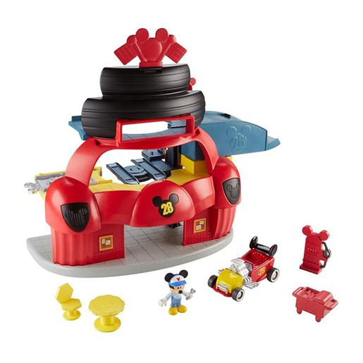 Fisher Price - Mickey Mouse - Garagem Mickey e Os Superpilotos