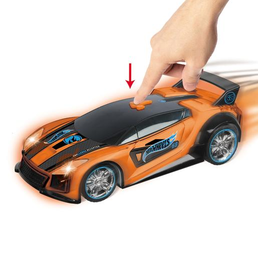 Hot Wheels - Spark Racer QuicknSik Luzes e Sons