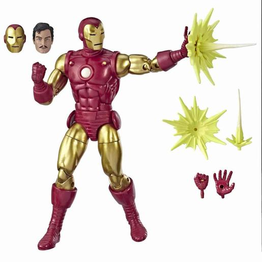 Iron Man - Figura 80 Anos Marvel Legends Series