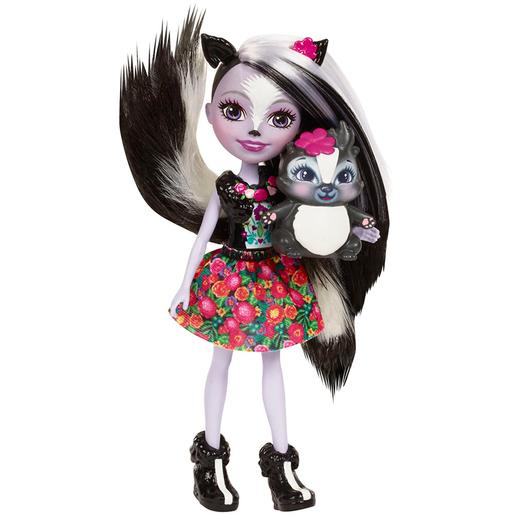Enchantimals - Sage Skunk -Boneca e Mascote