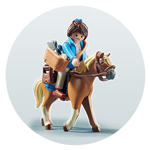 Playmobil - Marla con Caballo Playmobil The Movie - 70072