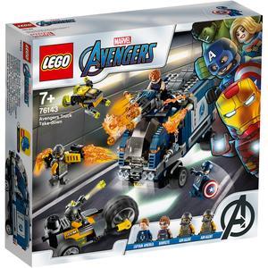 LEGO Marvel Avengers: Ataque Super Heroes Camiões Dos Vingadores - 76143
