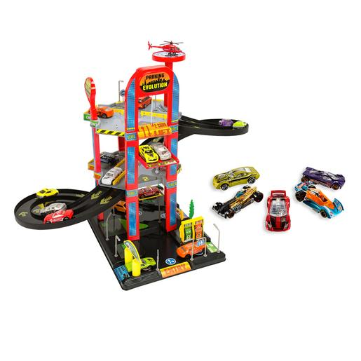 Hot Wheels - Pack Parque de Estacionamento 3 Andares