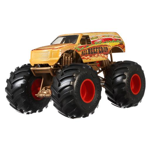 Hot Wheels - All Beefe - Veículo Monster Trucks 1:24