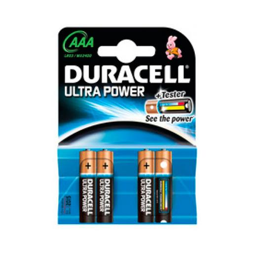Duracell - Pack 4 Duracell Ultra Power Alcalinas AAA