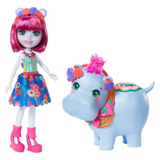 Enchantimals - Boneca Hedda Hippo com Mascote
