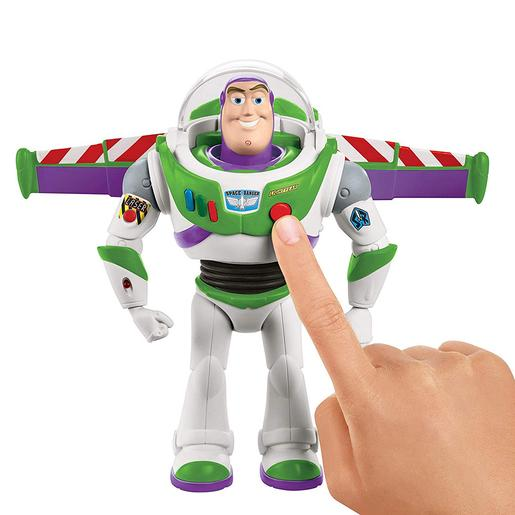 Toy Story - Figura Interactiva Buzz Lightyear