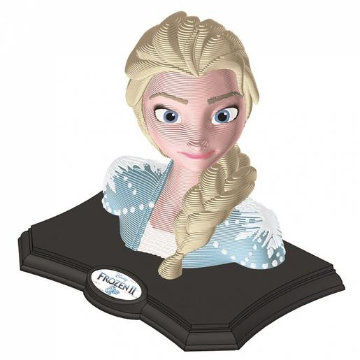 Frozen - Puzzle Escultura 3D Color Frozen 2