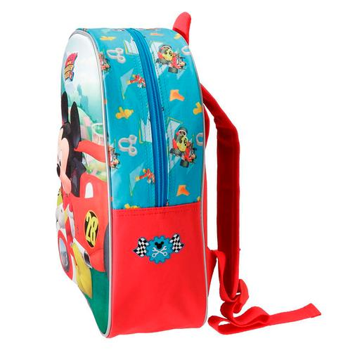 Mickey Mouse - Mochila Adaptável 33 cm Mickey e os Superpilotos