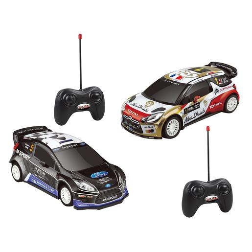 EZ Drive - Pack 2 Coches Radiocontrol Rally Racing 1:16