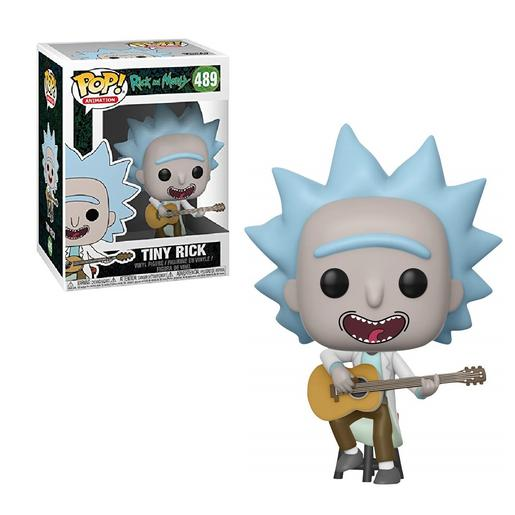 Rick e Morty - Rick com Guitarra - Figura Funko POP