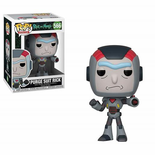 Rick and Morty - Purge Suit Rick - Figura Funko POP