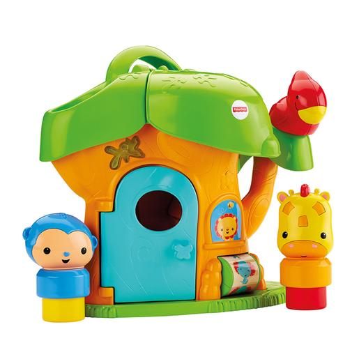 Fisher Price Silly - Casa Arvore Atividades Safari Divertido
