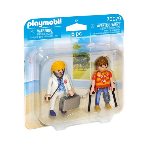 Playmobil - Duo Pack Médica e Paciente - 70079