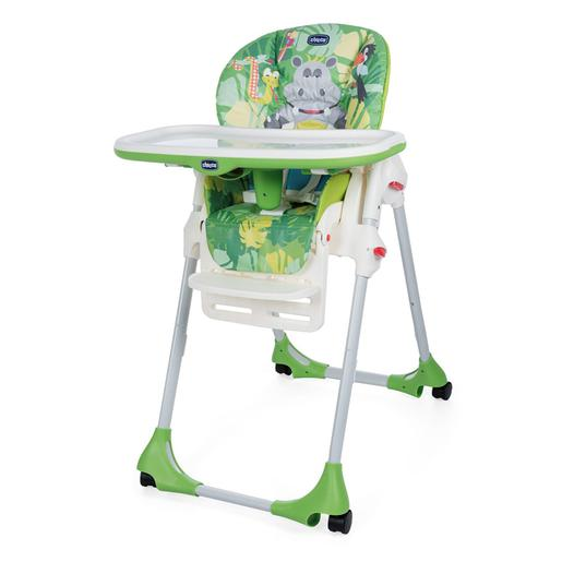 Chicco - Cadeira de Papa Polly Easy Happy Jungle