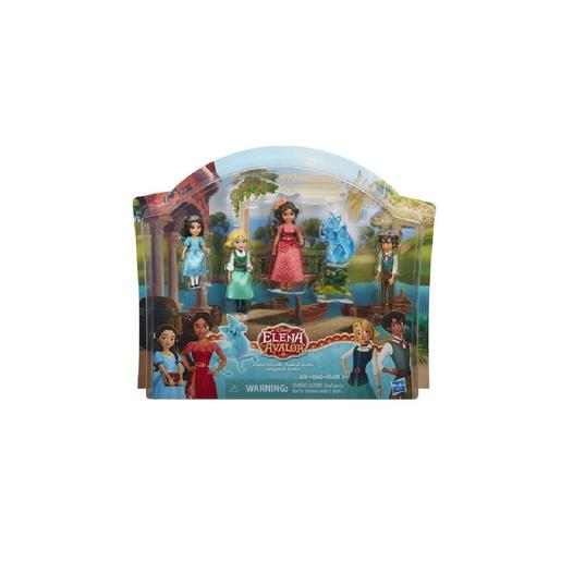 Elena de Avalor - Pack 4 Figuras