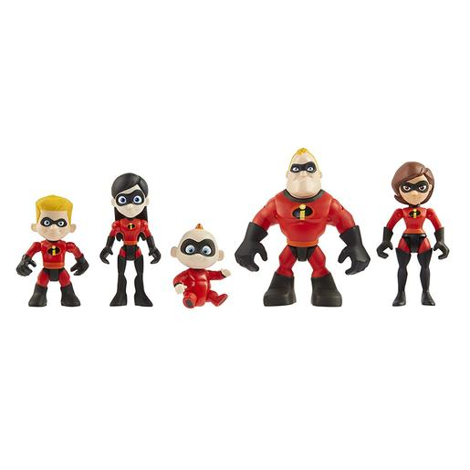 The Incredibles - Pack Familiar Figuras 8 cm