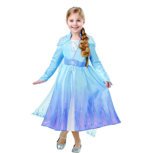 Frozen - Disfarce Infantil Elsa Travel Frozen II 5-6 anos