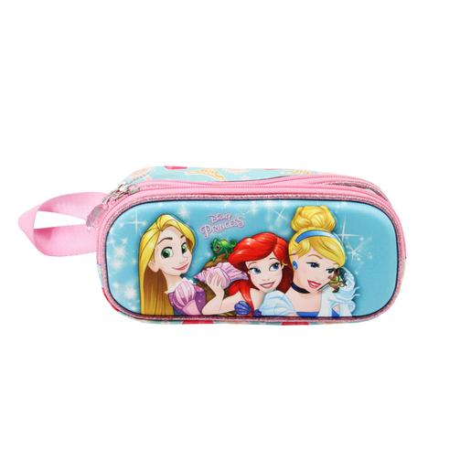 Princesas Disney - Estojo porta-tudo duplo 3D Beautiful