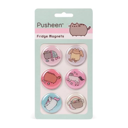 Pusheen - Set de 6 Ímanes
